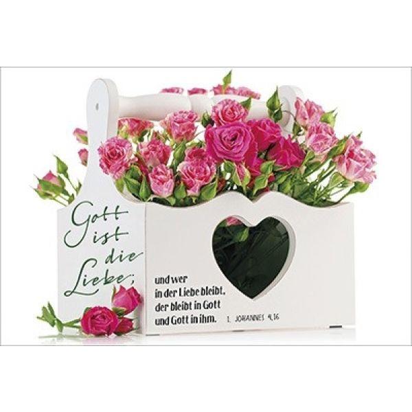 Faltkarte Gott Ist Die Liebe Hochzeit Schreibwaren