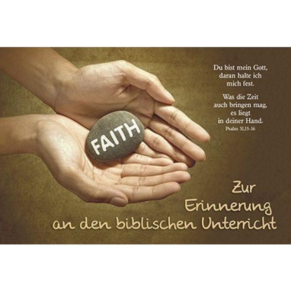 Faltkarte: Du bist mein Gott - Biblischer Unterricht
