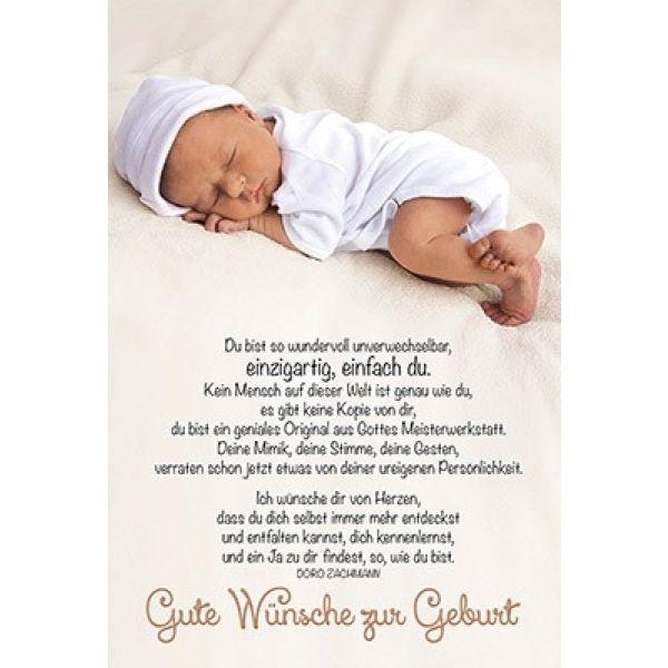 Präferenz Faltkarte: Gute Wünsche zur Geburt (Schreibwaren) YQ12