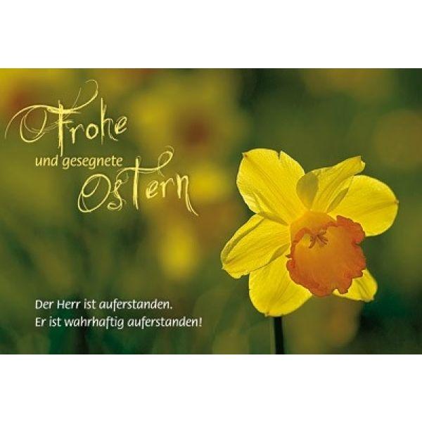 Faltkarte: Der Herr ist auferstanden - Ostern