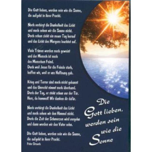Postkarten: Die Gott lieben, 12 Stück
