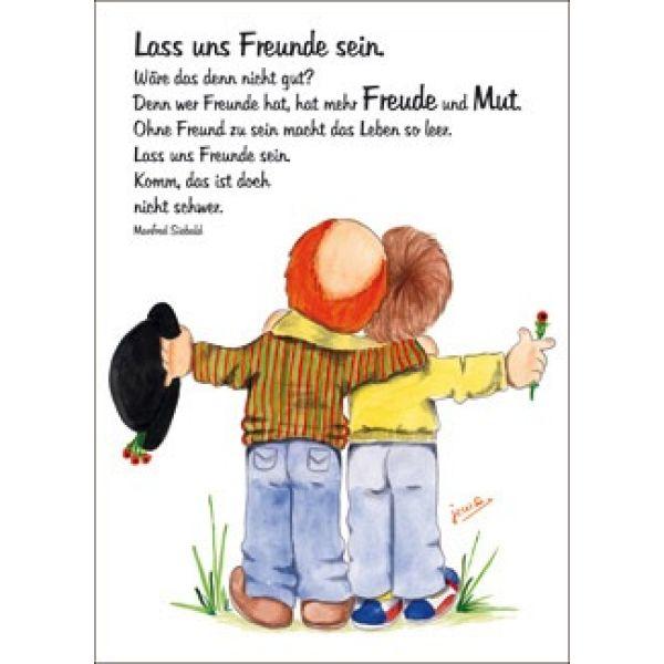 Postkarten: Clown - Lass uns Freunde sein (1x12)