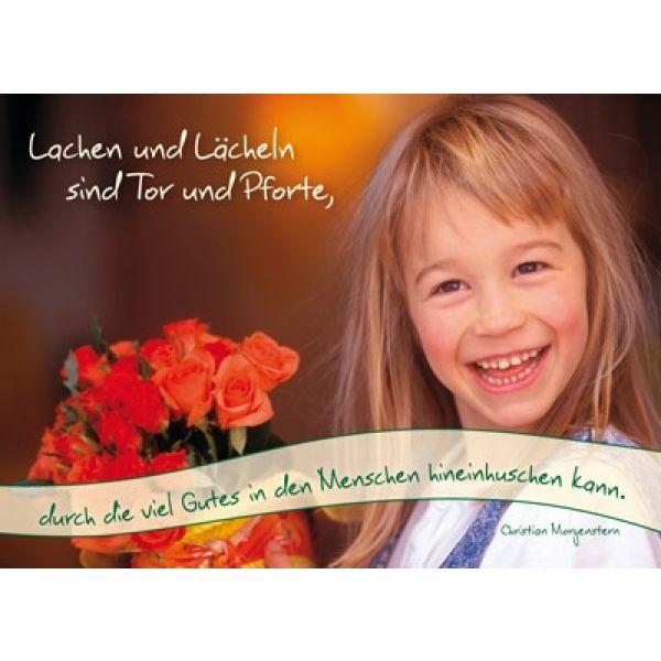 Postkarten: Lachen und lächeln, 12 Stück