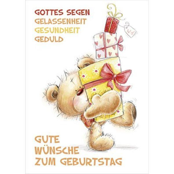 Postkarten: Gute Wünsche zum Geburtstag, 12 Stück