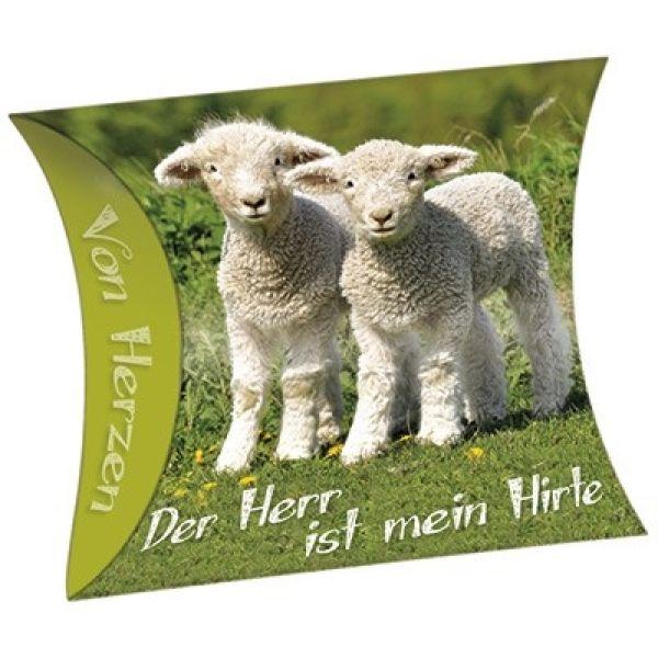 """Schafmilchseife Herz """"Der Herr ist mein Hirte"""""""