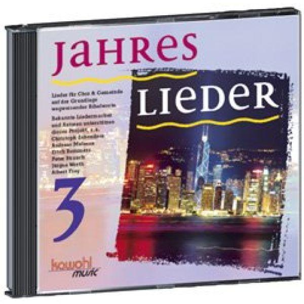Jahreslieder 3 - Chorausgabe