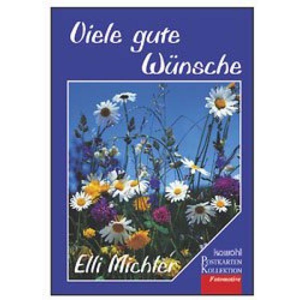 Postkartenbuch: Viele gute Wünsche