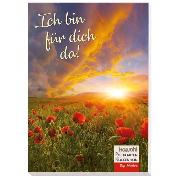 Postkartenbuch: Ich bin für dich da!