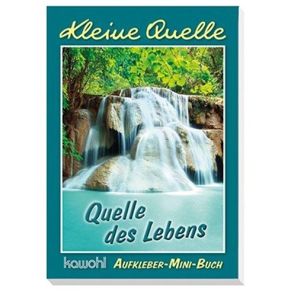 """Aufkleber-Mini-Buch """"Quelle des Lebens"""""""