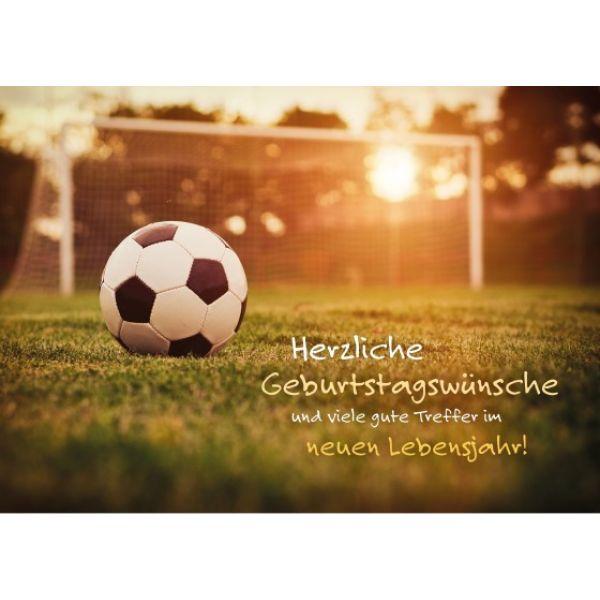 Geburtstagswünsche Fussball