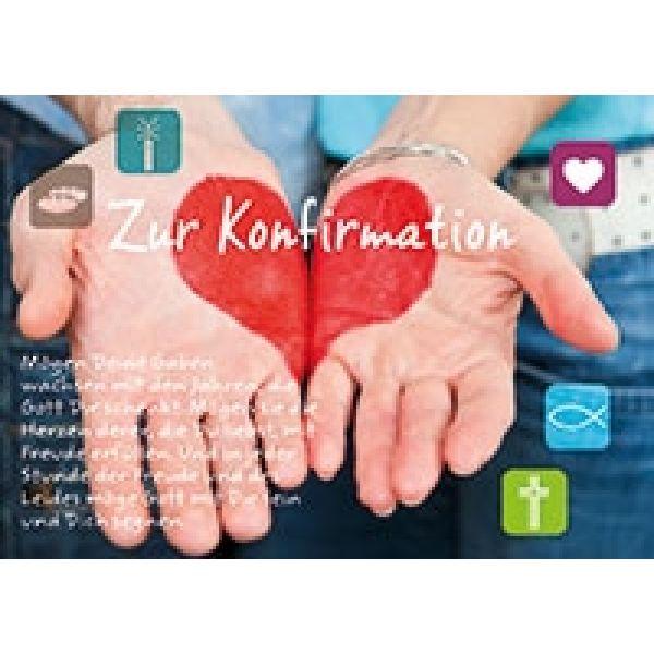 Zur Konfirmation - Faltkarte