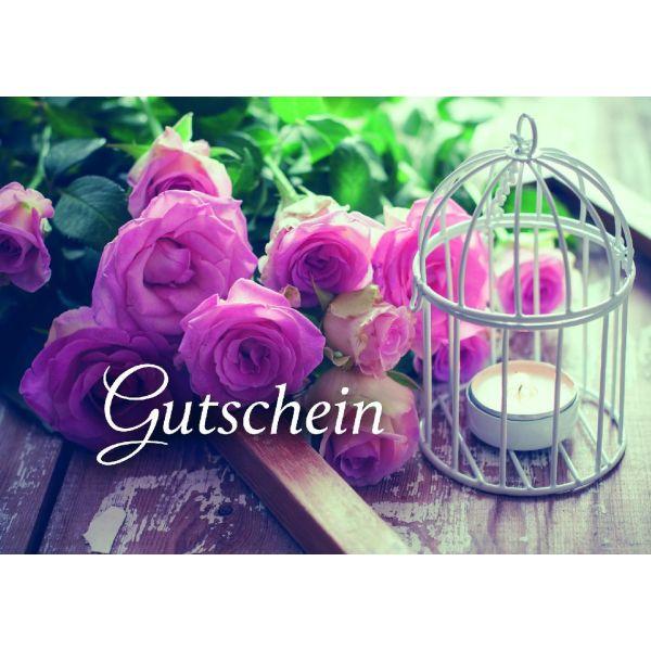 Gutschein - Faltkarte