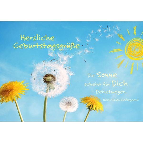 geburtstagsgrüße Herzliche Geburtstagsgrüße   Faltkarte (Schreibwaren) geburtstagsgrüße