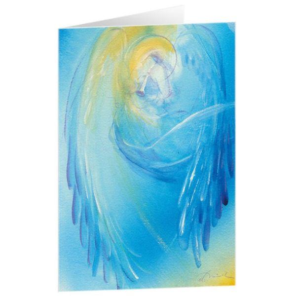 "Kunstkarten ""Musizierender Engel"" - 5 Stück"