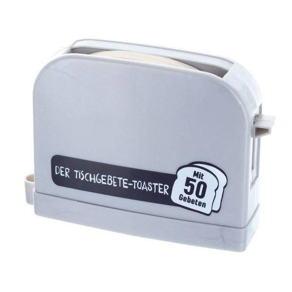 Der Tischgebete-Toaster - silbergrau