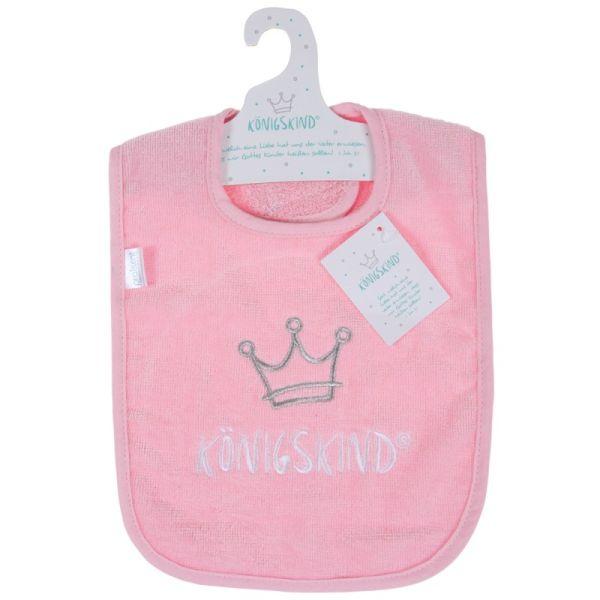 Lätzchen Königskind - rosa