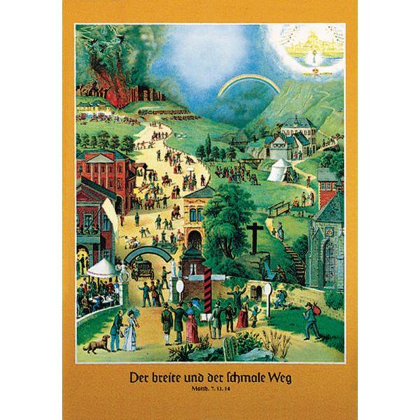 Der breite und der schmale Weg - Poster