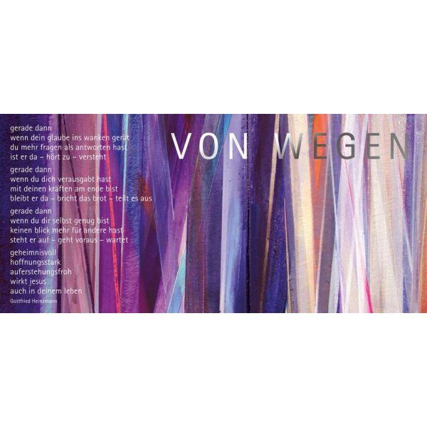"""Kunstpostkarten-Set Motiv """"Von wegen"""" - 12Stk."""