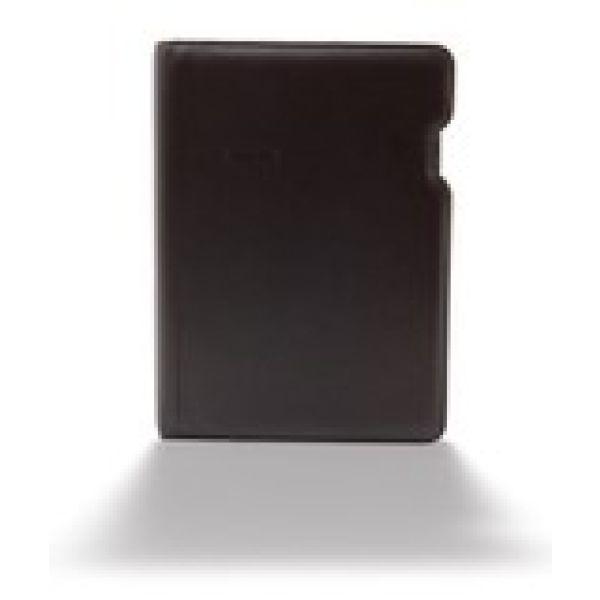 Ringbuch A5 Kunstleder schwarz 30mm