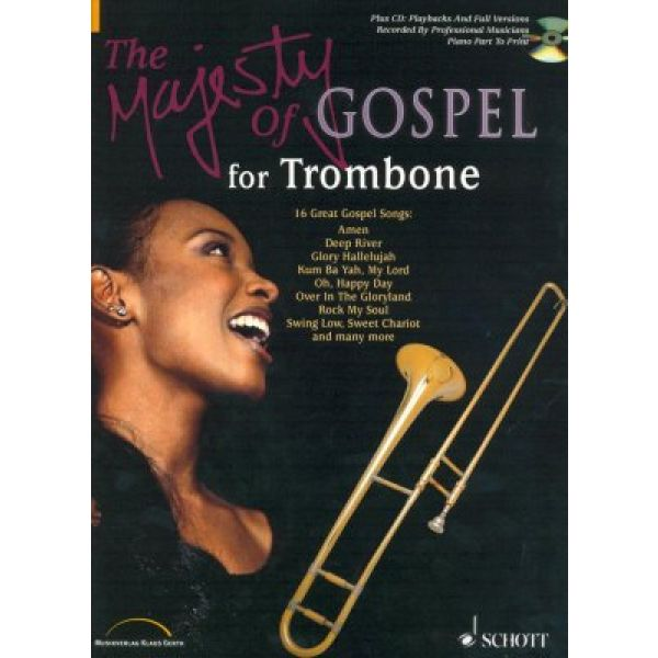 The Majesty of Gospel - for Trombone