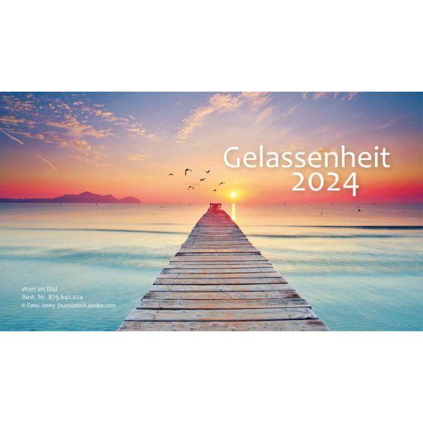 Gelassenheit 2020 - Minikalender