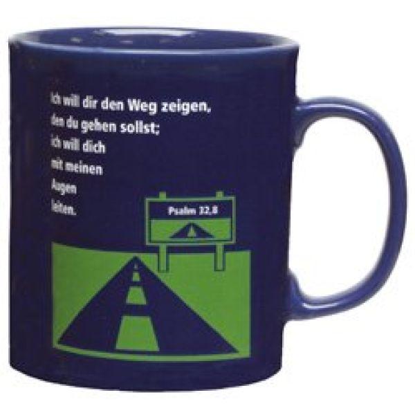 Keramiktasse 'Ich will dir den Weg zeigen'