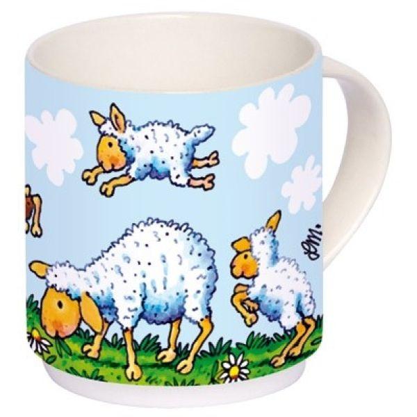 """Kindertasse Schafe """"Der Herr ist mein Hirte"""""""