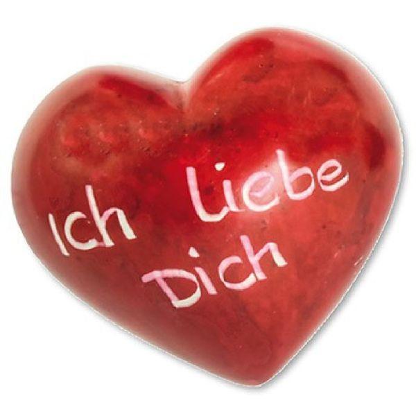 """Handschmeichler Herz """"Ich liebe Dich"""""""