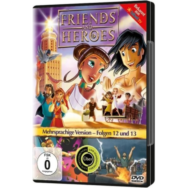 Friends And Heroes - Folgen 12 & 13