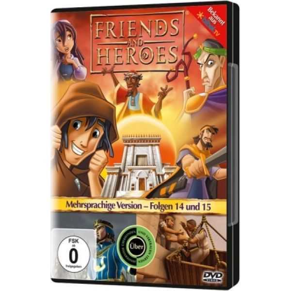Friends And Heroes - Folgen 14 & 15