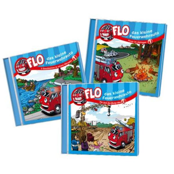CD-Set: Flo 1-3