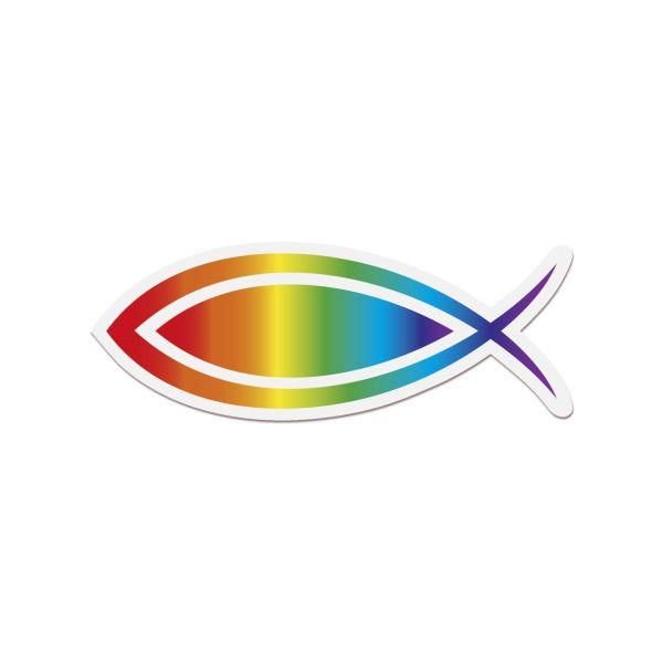 Aufkleber Ichthys-Fisch