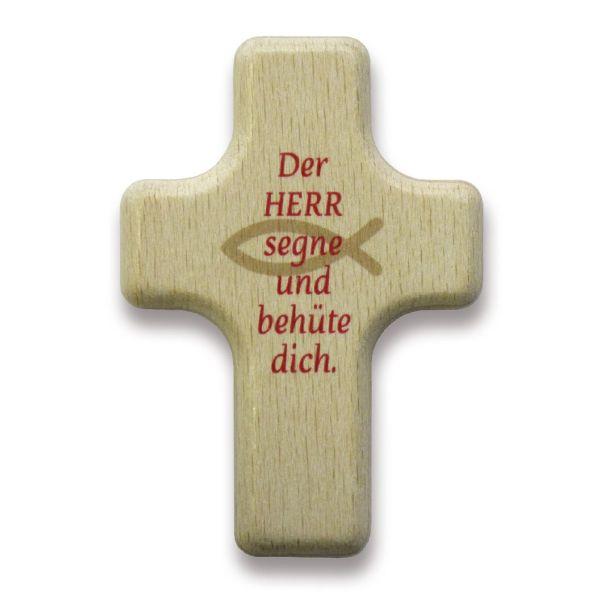 """Handkreuz """"Der Herr segne und behüte dich"""""""