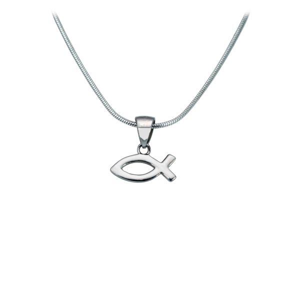 """Halskette """"Ichthys"""" silber"""