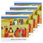 Jesus und seine Jünger - 4er Set
