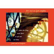 """Faltkarte """"Wir sind von Gott umgeben"""" - 5 Stück"""