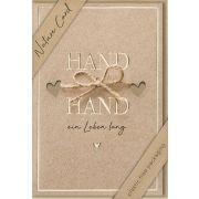 "Faltkarte ""Hand in Hand"""
