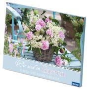 """Postkartenbox """"Wir sind im Garten"""""""