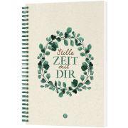 Stille Zeit mit Dir - Notizbuch (Eukalyptus)