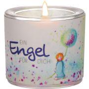 """Windlicht LichtMomente """"Ein Engel für dich"""""""