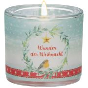 """Windlicht LichtMomente """"Wunder der Weihnacht"""""""