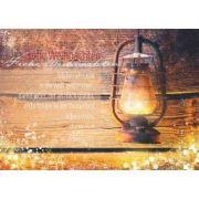 """Postkarte """"Frohe Weihnachten"""" Joh. 12,46"""