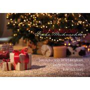 """Postkarte """"Frohe Weihnachten"""" Luk. 2,11"""