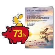 Spar-Paket: 25 Faltkarten