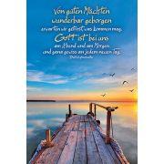 Faltkarte: Von guten Mächten wunderbar - Geburtstag
