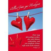 Faltkarte: Alles Gute zur Hochzeit - Hochzeit