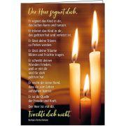 Faltkarte: Der Herr segnet dich - Trauer