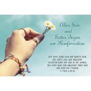 Faltkarte: Alles Gute und Gottes Segen - Konfirmation