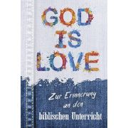 Faltkarte: God is Love - Biblischer Unterricht