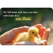 Postkarte - Wer Gott kennt, weiß...